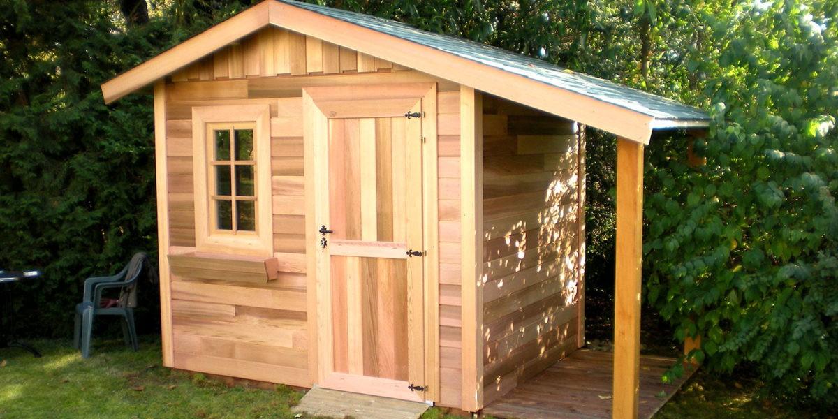 Abri de jardin en bois : préconisation sur les traitements - Blog jardin