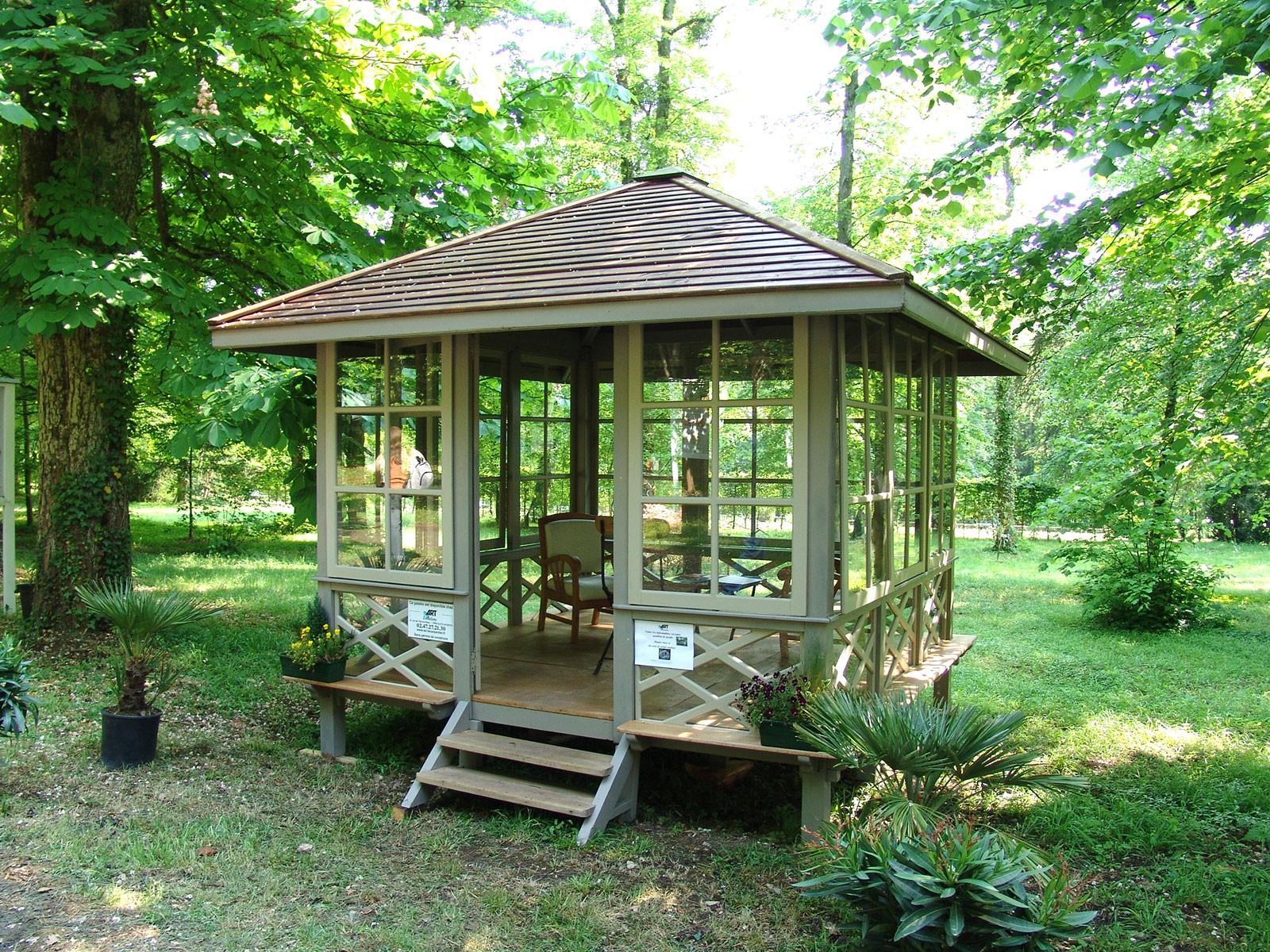 Gazebo conçu par art jardin