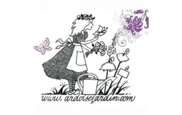 Etiquettes ardoises jardin