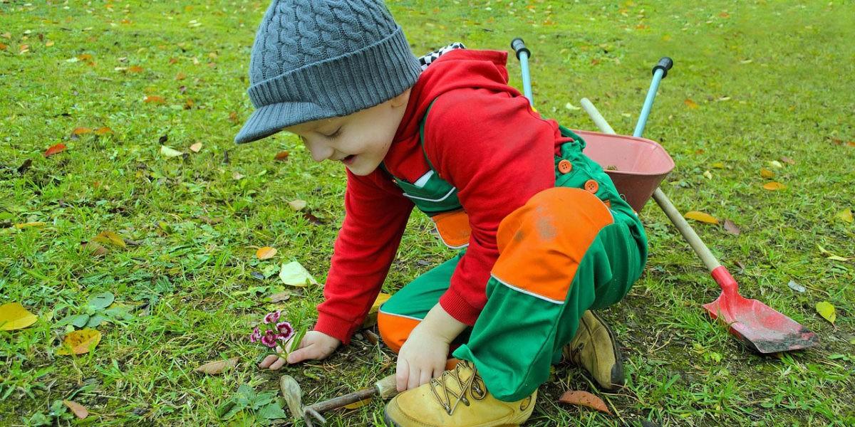 Un petit jardin pour vos enfants