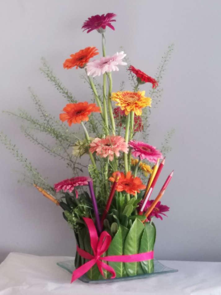 Art floral à L'Atelier de Mo