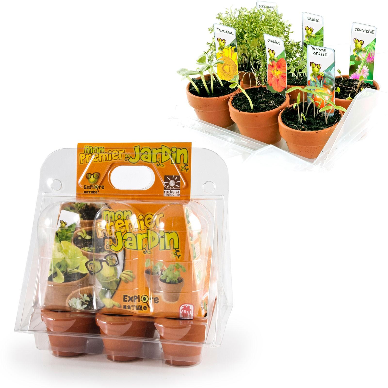 radis et capucine graines bio et jardinage pour enfants. Black Bedroom Furniture Sets. Home Design Ideas