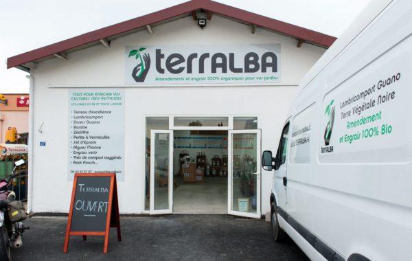 Entrée jardinerie Terralba