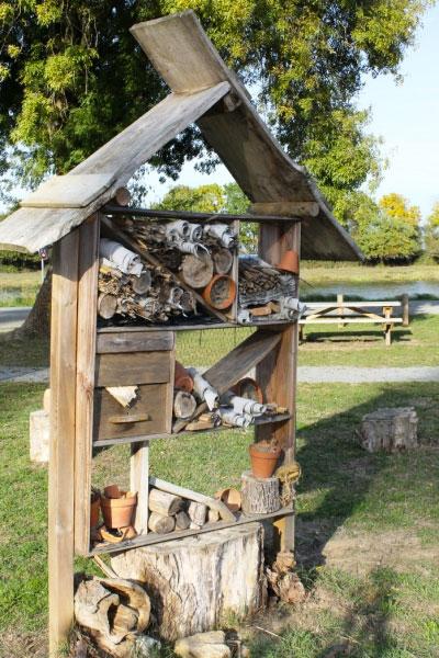 Atelier nature : bricolage au jardin