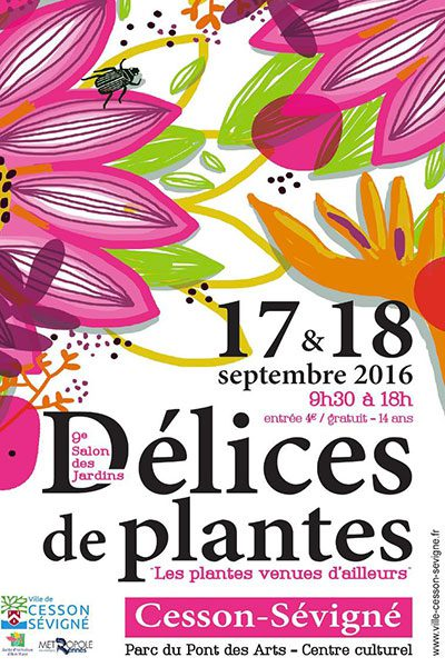 9 ème salon du végétal et des jardins