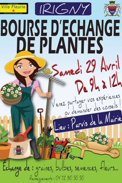 Bourse d'échange de plantes