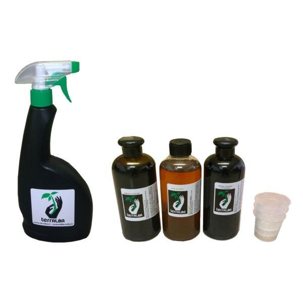 Pack éléments liquides Terralba