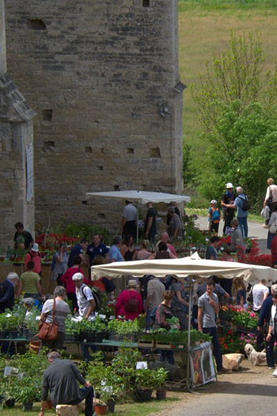 Fête des plantes de l'Abbaye-Nouvelle