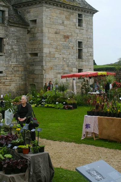 Journées des Plantes de collection à Kerjean