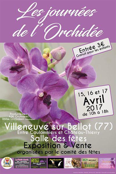 Les journées de l'orchidée
