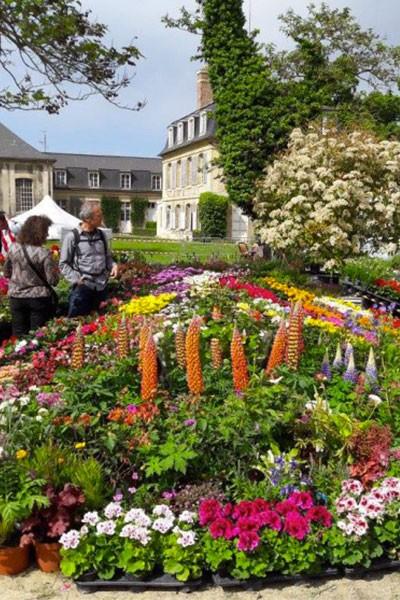 Salon de la fleur de Compiègne