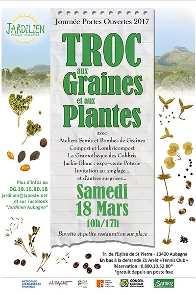 Troc aux graines et aux plantes