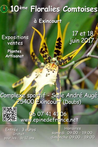 10ème Floralies Comtoises