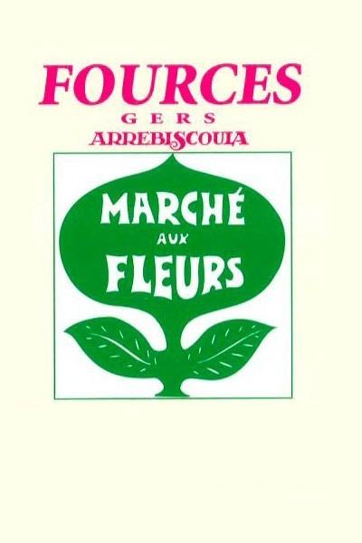 Marché aux fleurs de Fources