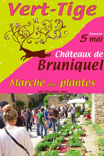 Vert-Tige - Marché aux plantes de Bruniquel