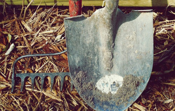 L'entretien des outils de jardin en bois