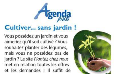 Agenda Plus Belgique - Cultiver sans Jardin !
