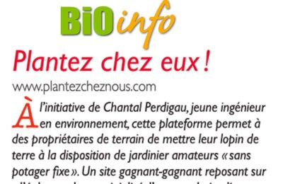 Bio Info - Plantez chez eux !
