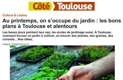 Côté Toulouse - Au printemps, on s'occupe du jardin