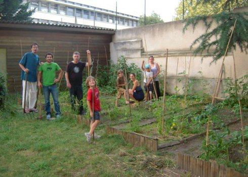 Co-jardinage en plein coeur de Toulouse