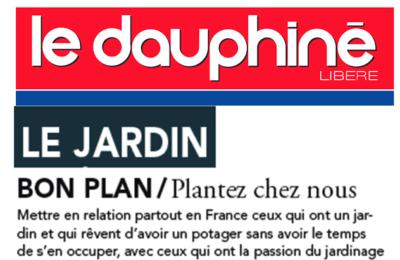 Dauphiné Libéré - Le bon plan Plantez Chez Nous