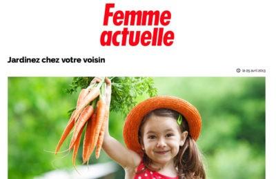 Femme Actuelle - Jardinez chez votre voisin