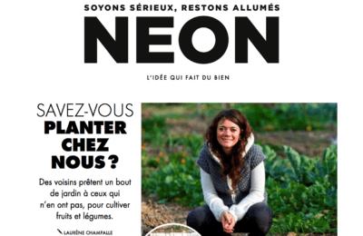 Néon Magazine - L'idée qui fait du bien