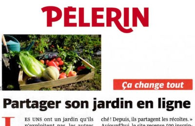 Pélerin - Partager son jardin en ligne