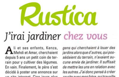 Rustica - J'irai jardiner chez vous