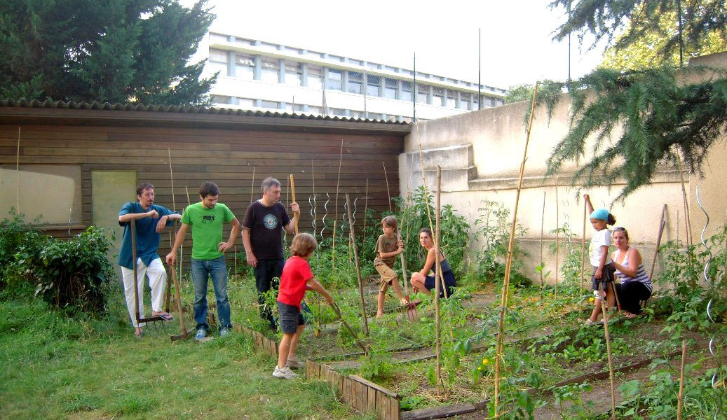 Co-jardinage chez Reno en plein coeur de Toulouse