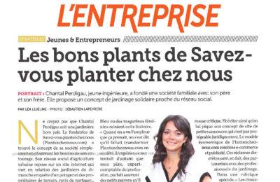 L'Entreprise - Les bons plants Savez-vous Planter Chez Nous