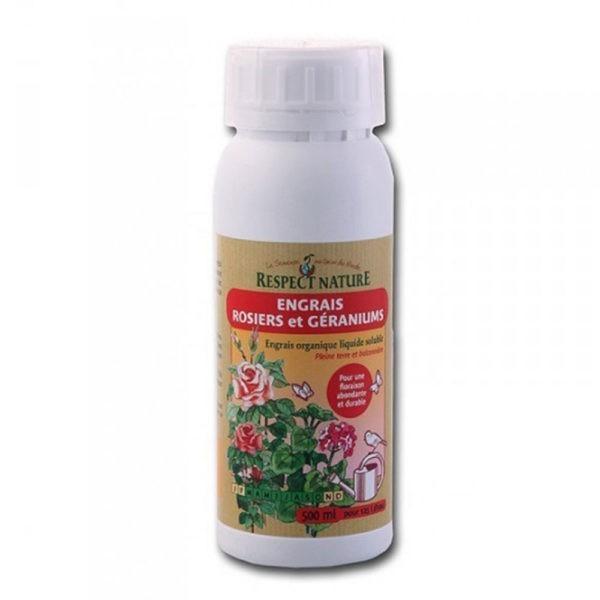 engrais naturel pour rosiers