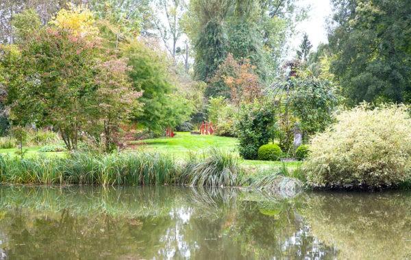 Pause romantique au Parc et Jardin de Saint-Vincent à Borest