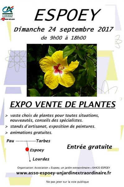 Expo vente de Plantes