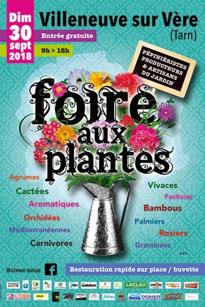 Foire aux Plantes de Villeneuve sur Vère