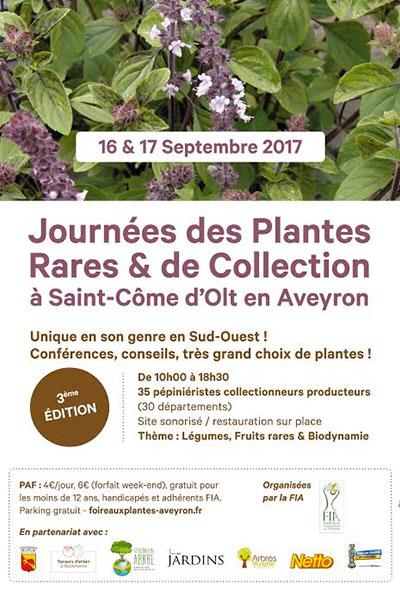 Journée des Plantes Rares & de Collection