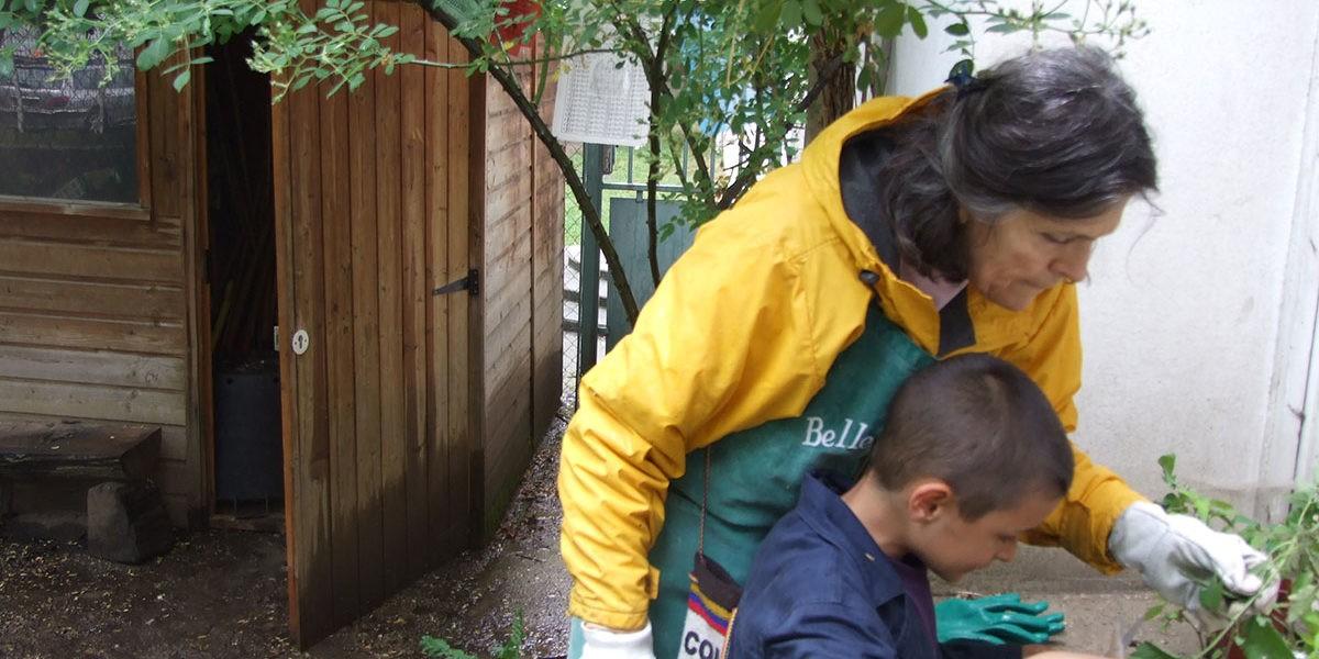 Anne Ribes, infirmière jardiniste, crée des jardins guérisseurs