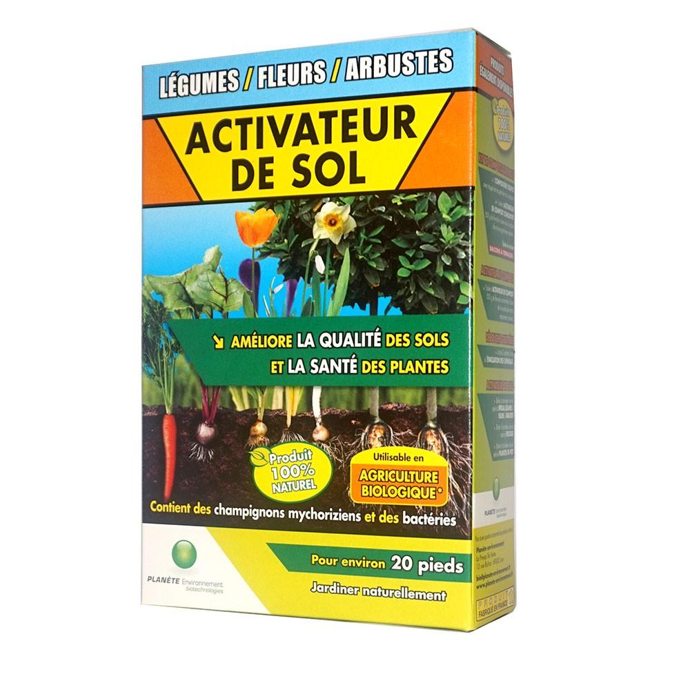 Activateur de sol pour légumes