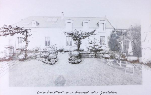 Aménagement paysager L'atelier au fond du jardin