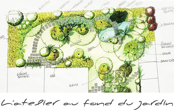 l atelier au fond du jardin caroline bourigault paysagiste. Black Bedroom Furniture Sets. Home Design Ideas