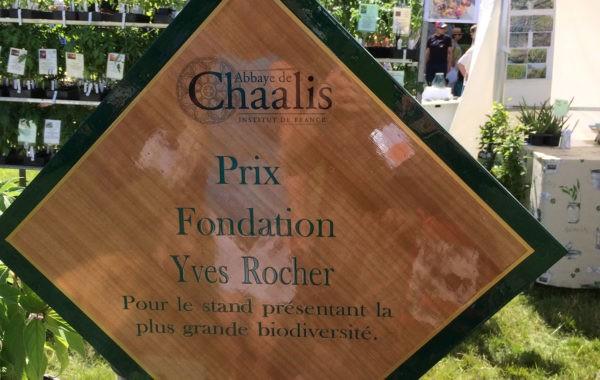 Récompense des Jardins d'Ollivier