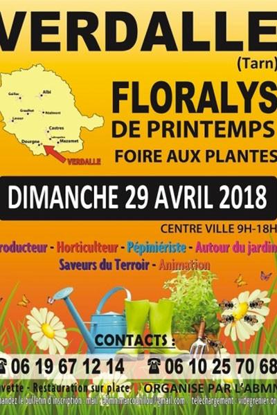 Floralys de printemps à Verdalle