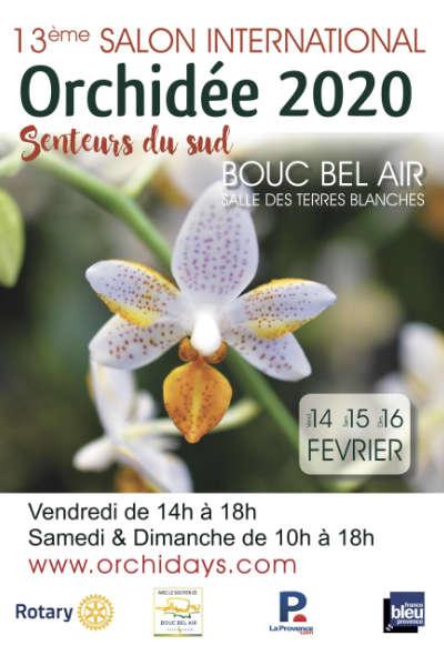 Salon International Orchidée - Senteurs du sud