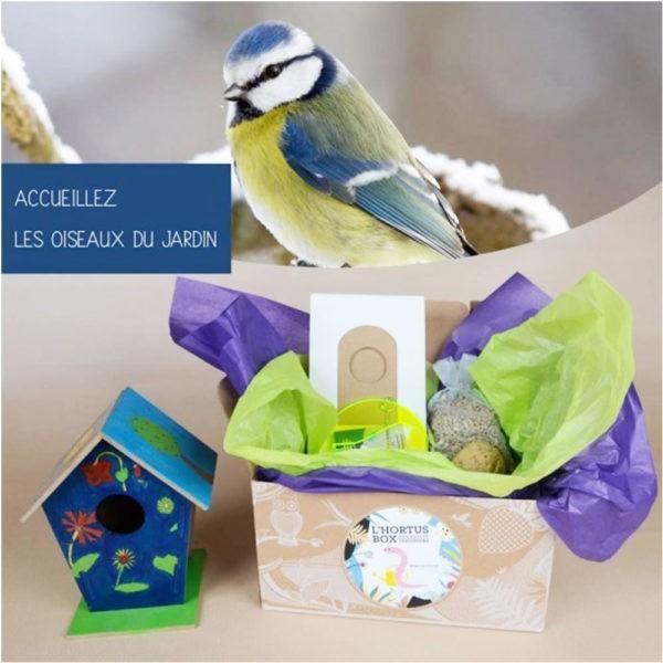 Box Les oiseaux du jardin