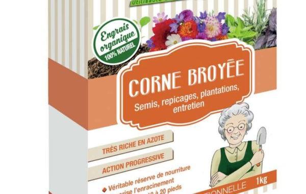 Corne broyée MonJardinBio.com