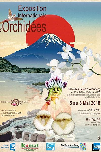 Exposition Internationale d'Orchidées de Wallers