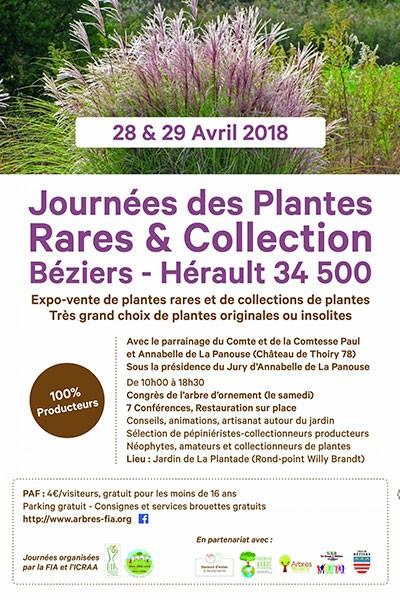 Journées des Plantes Rares et Collections de Béziers
