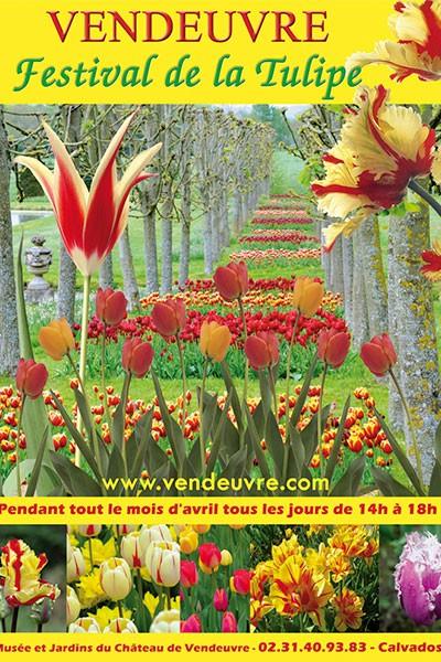 Festival de la Tulipe au château de Vendeuvre