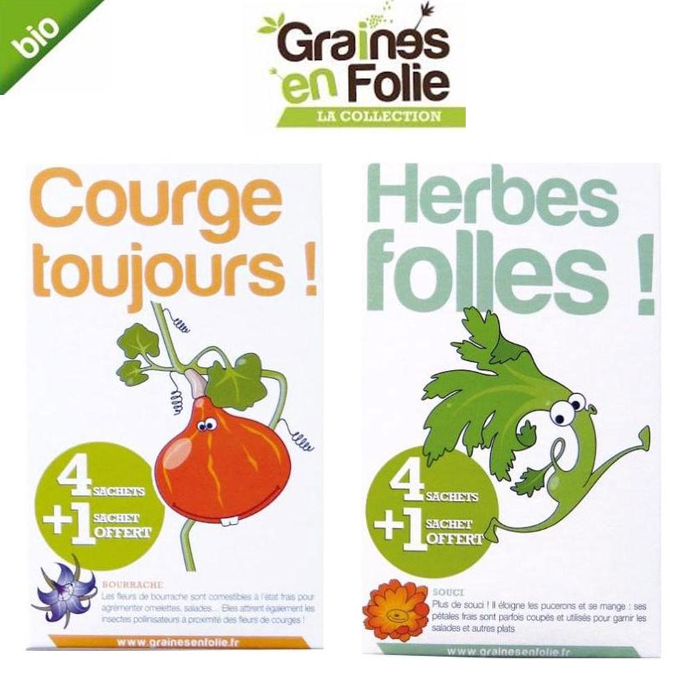 graines d'herbes aromatiques