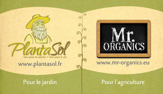 Plantasol et MrOrganics